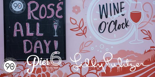 A Rosé Truck, Lilly Pulitzer & Waterfront Sunsets!