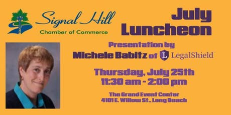 Signal Hill Chamber July Luncheon tickets