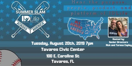 Tavares Summer Slam Event  tickets