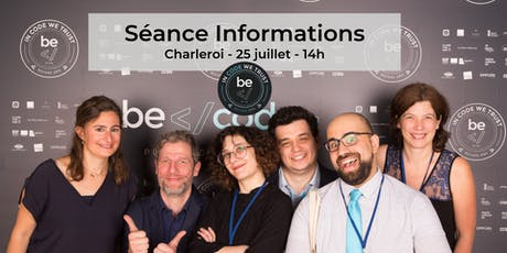 BeCode - Séance Information Charleroi tickets