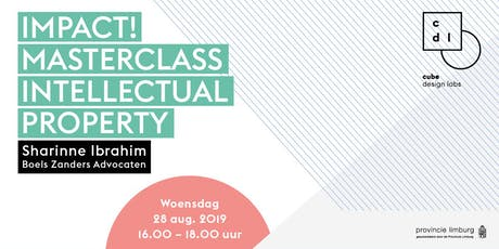 Masterclass intellectual property by Sharinne Ibrahim tickets