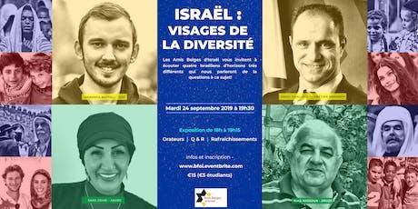 Israël :  Visages de la diversité tickets