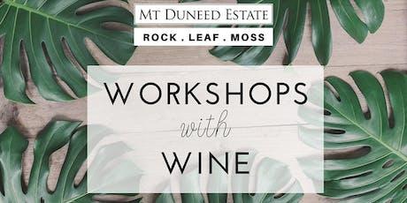 Terrarium Workshop with Rock Leaf Moss @ Mt Duneed Estate tickets