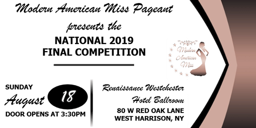 Modern American Miss 2019 National Final Competition