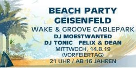 Beachparty Geisenfeld Tickets