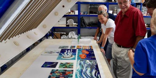 Full Day Workshop - Glass Fusing with Enamels