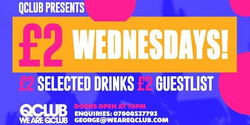 £2 Wednesdays - Grad Week Special!