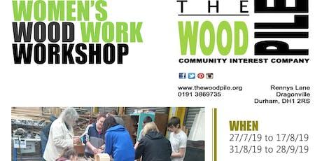Women's Joinery Workshop tickets