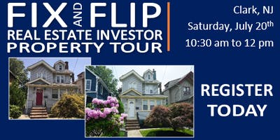 Fix & Flip Real Estate Investor Property Tour - CLARK, NJ