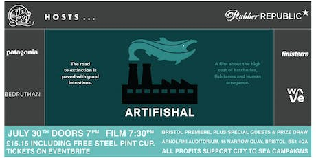 ARTIFISHAL Screening with City to Sea tickets