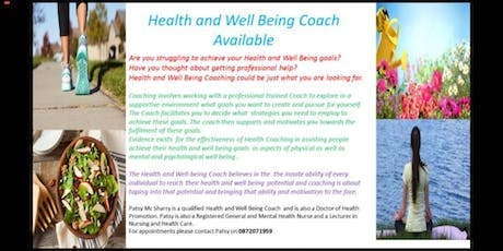 Coaching Workshop for Health and Well Being tickets