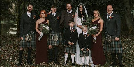 Tartan Fantasy Styled Shoot with P. Chevalley Artistry tickets