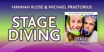 Stage Diving mit Hannah Klose und Michael Praetorius