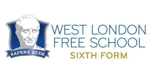 West London Free School - Sixth Form Open Evening - 16th Oct 2019