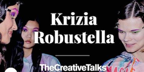 TheCreativeTalks con Krizia Robustella entradas