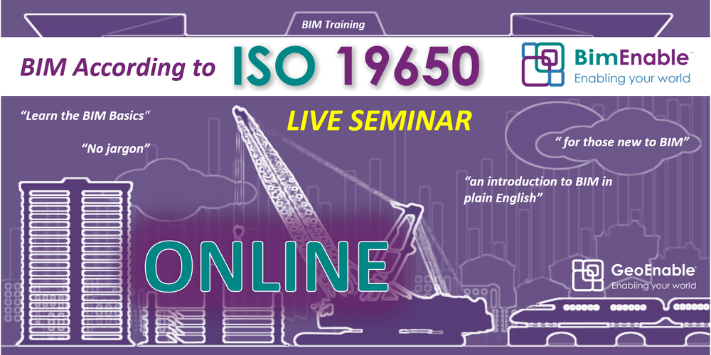 BIM According to ISO 19650 Series [LIVE ONLINE SEMINAR]