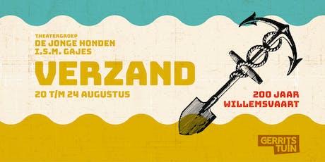 Theatervoorstelling Verzand - Theatergroep De Jonge Honden en Theater Gajes tickets