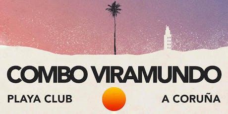 Concierto COMBO VIRAMUNDO  |  PLAYA CLUB, A Coruña entradas