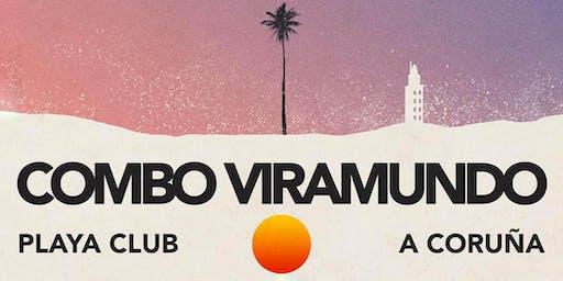 Concierto COMBO VIRAMUNDO  |  PLAYA CLUB, A Coruña