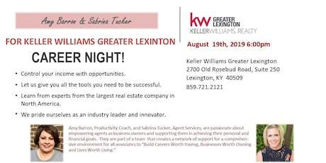 Keller Williams Greater Lexington tickets