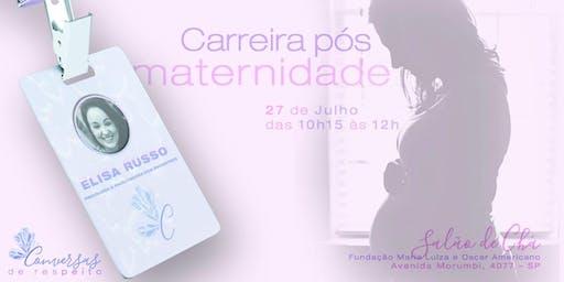 Roda de Conversa - Carreira pós Maternidade