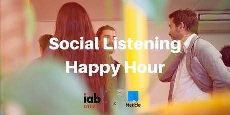 IAB Impulse Social Listening Happy Hour Tickets