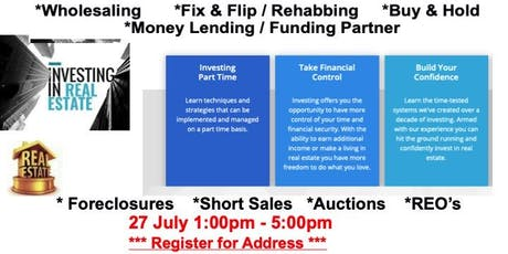 Live Free Real Estate Investment Workshop tickets