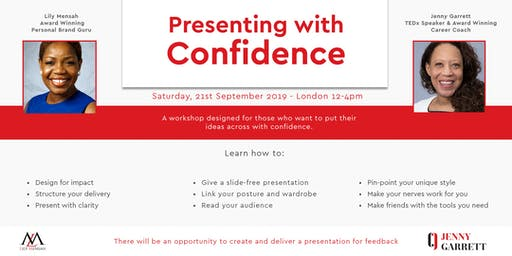Presenting With Confidence