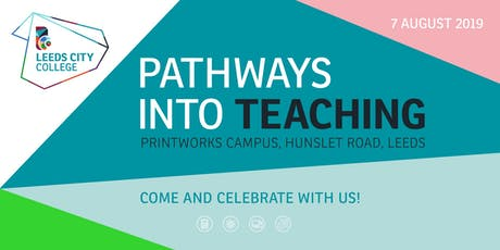 Pathways into Teaching tickets