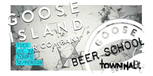 Beer School #31 Goose Island
