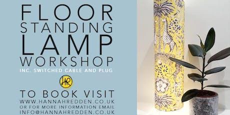 FLOOR STANDING LAMP Workshop tickets