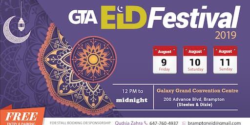 GTA Eid Festival 2019 - 9th & 10th August