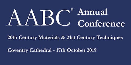 AABC Anniversary Conference and AGM Coventry 2019 tickets