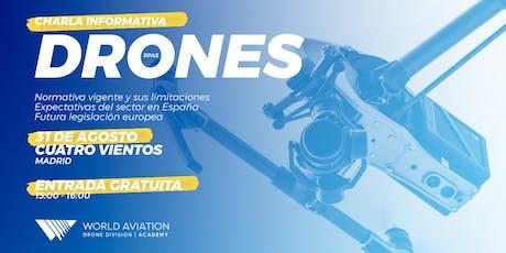 Charla Informativa | Drones Madrid entradas