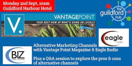 Alternative marketing channels tickets