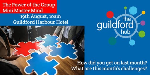 The Power of the Group – August Mini-Mastermind