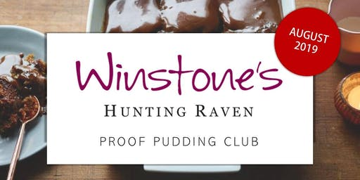 August Proof Pudding Club by Hunting Raven Books