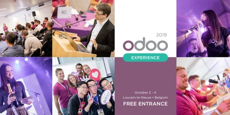 Odoo Experience 2019 billets
