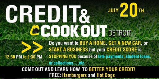 CREDIT AND COOKOUT