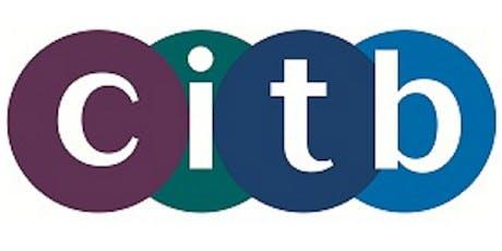 CITB Site Supervisor's Safety Training Scheme (SSSTS) tickets