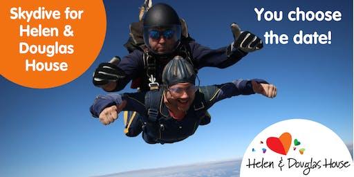 Skydive for Helen & Douglas House 2019/20