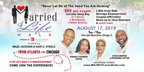 Married 4 Life Walk & Couples Mixer Chicago tickets