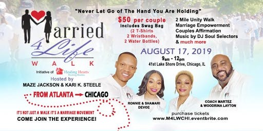 Married 4 Life Walk & Couples Mixer Chicago