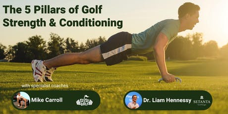 The 5 Pillars of Golf Strength & Conditioning tickets
