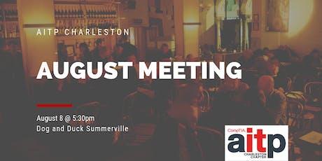 AITP Charleston August Meeting tickets