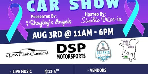 2nd Annual Suicide Awareness Car Show