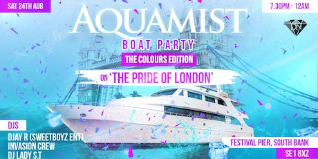 GORGEOUS BOAT PARTY - COLOURS EDITION tickets