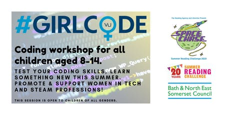 #GirlCode at Bath Library tickets