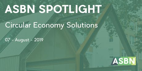 Circular Economy Solutions | ASBN Spotlight tickets