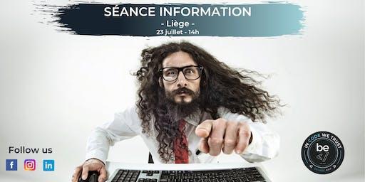BeCode - Séance Information Liège